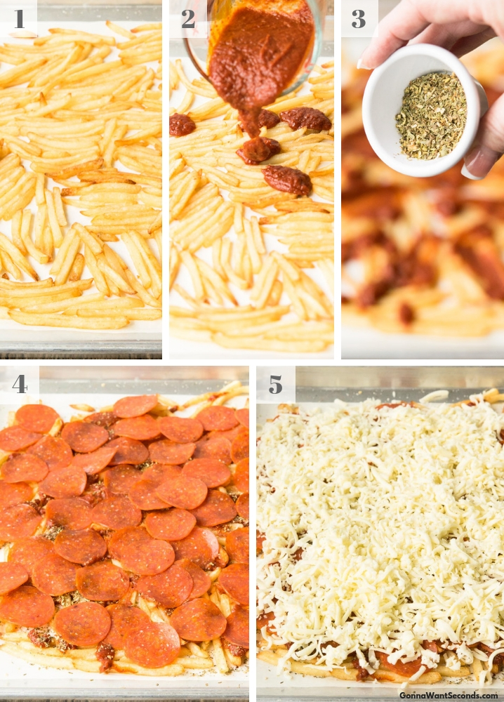 Step By Step How To Make Pizza Fries