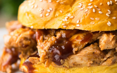 Pulled Chicken-Easy, Fall Apart Tender, Made In The Crock Pot!