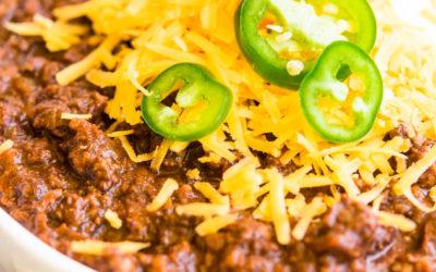 Texas Chili Recipe – Beefy, Thick, Spicy and Smokey!