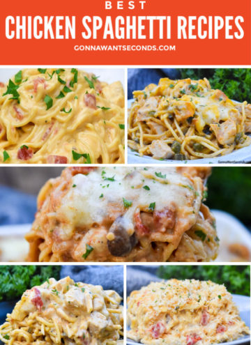 chicken spaghetti recipes