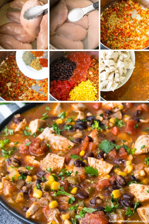 Step By Step How To Make Mexican Chicken Soup