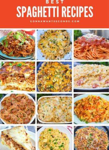 Spaghetti Recipes Montage