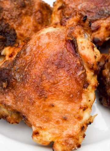 Air Fryer Chicken on a plate