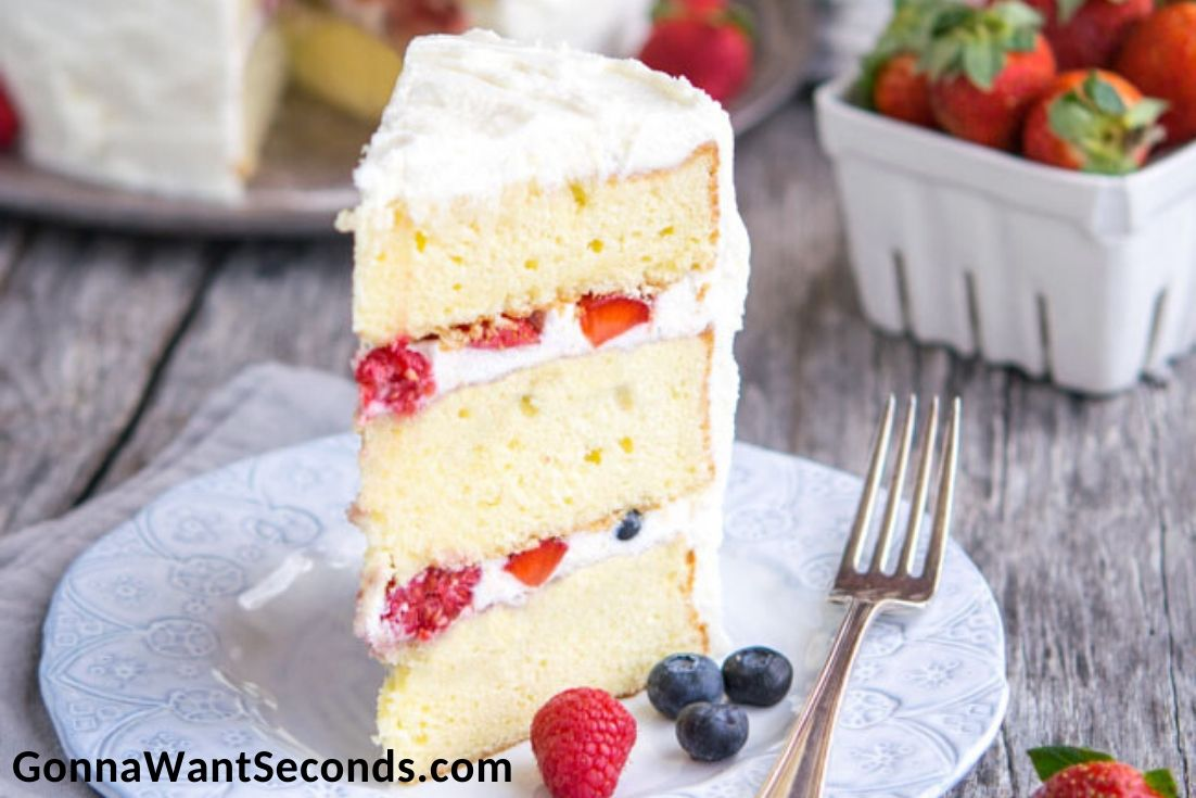 Easter Cakes, Berry Chantilly Cake