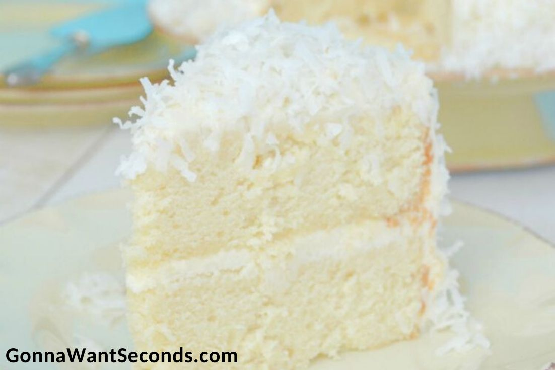 Easter Cakes, Coconut Cream Cake
