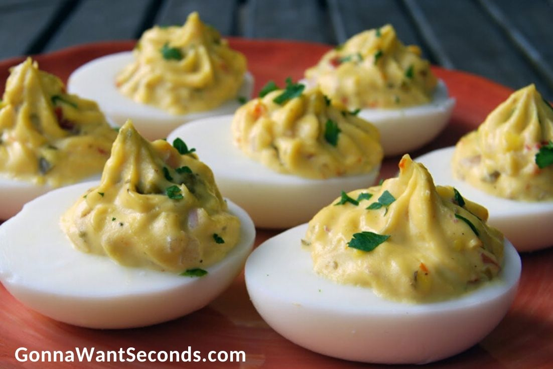 Easter Side Dishes, Deviled Eggs With Capers