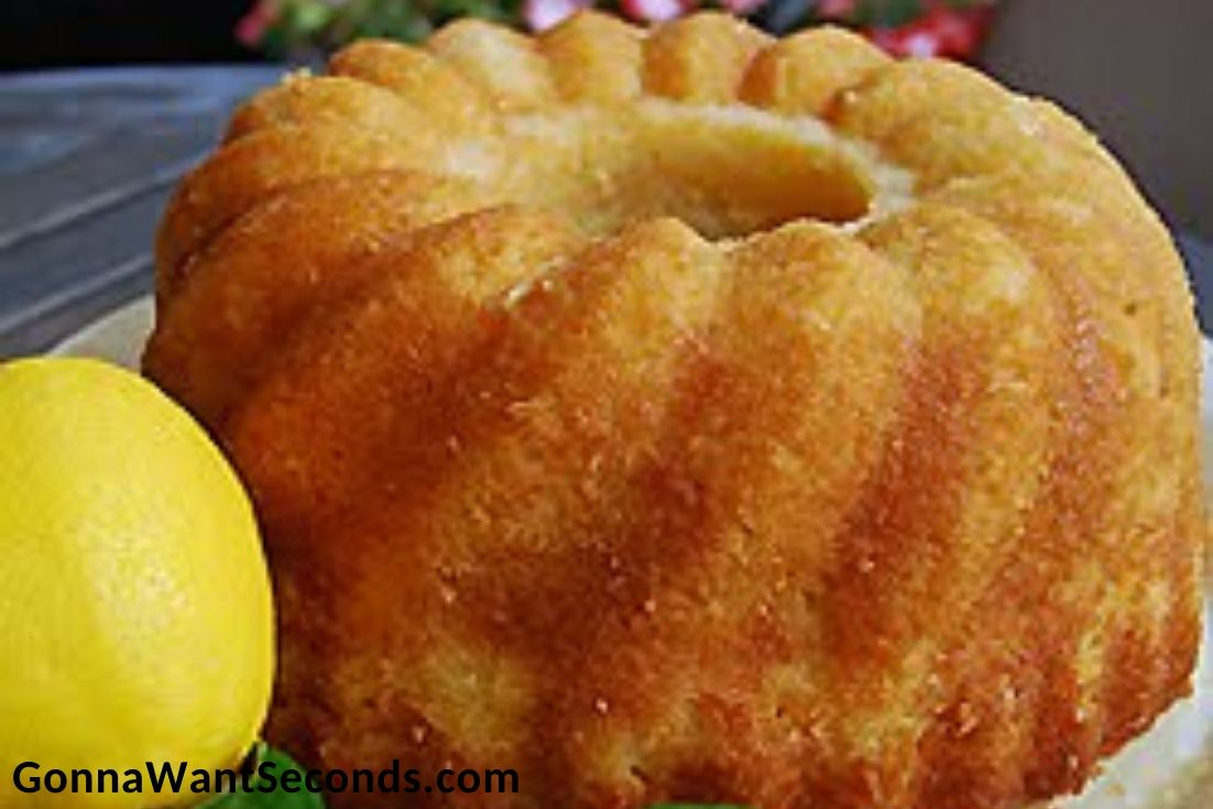 Easter Cakes, Lemon Pound Cake