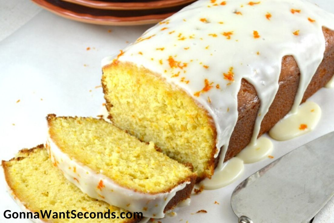Easter Cakes, Orange Pound Cake
