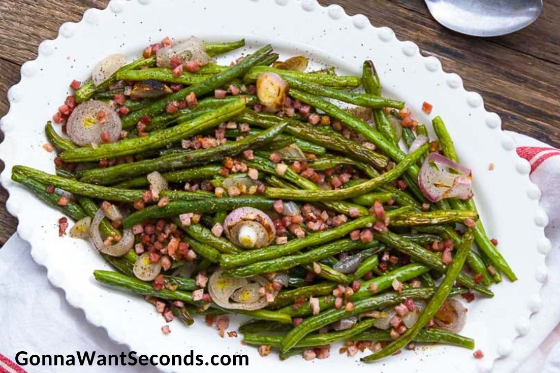 Easter Side Dishes, Roasted Green Beans
