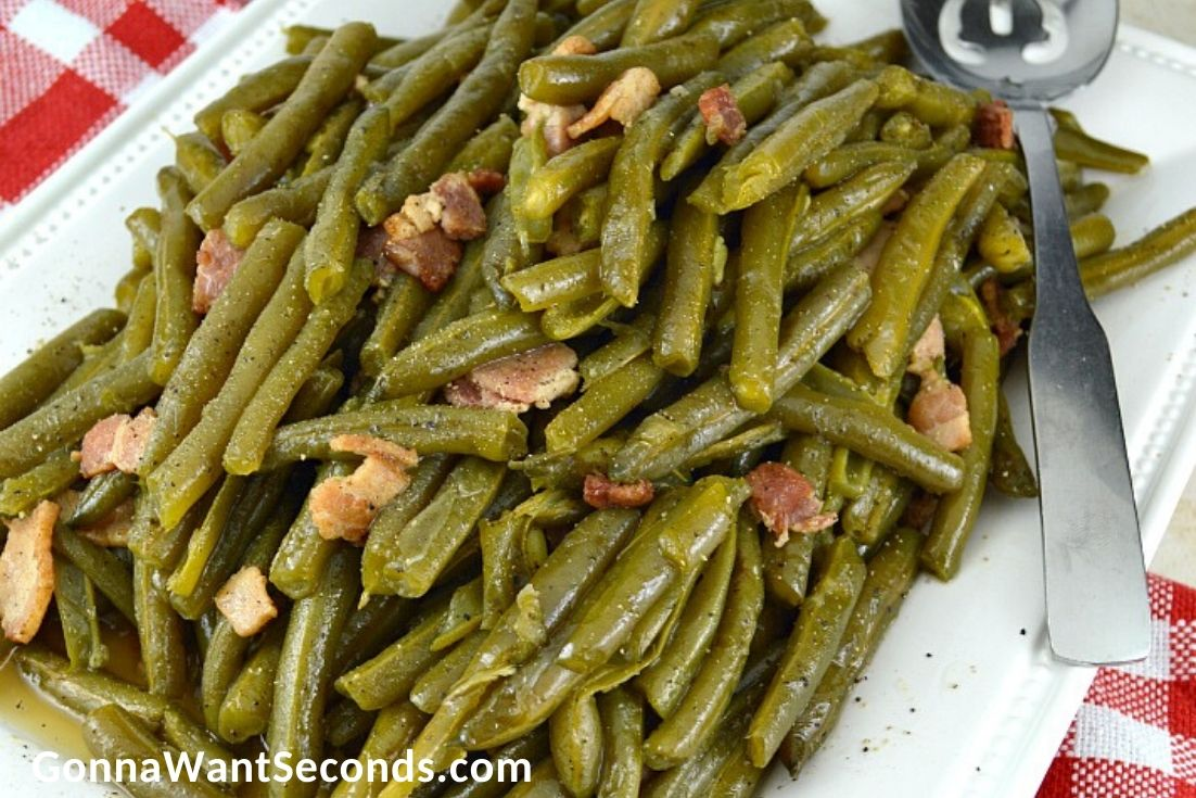 Easter Side Dishes, Southern Style Green Beans