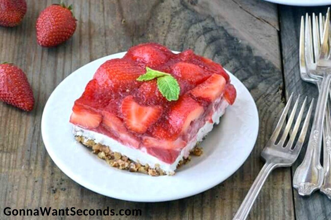 Easter Side Dishes, Strawberry Pretzel Salad