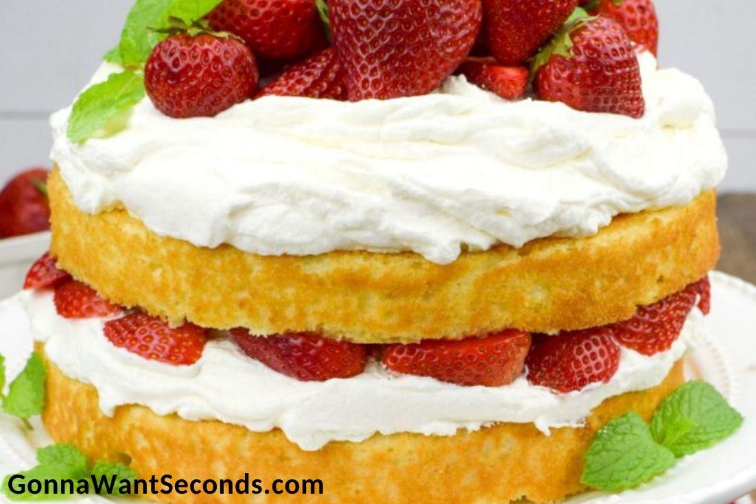 Easter Cakes, Strawberry Shortcake Cake