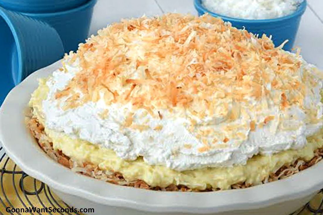 Whole Banana Coconut Cream Pie
