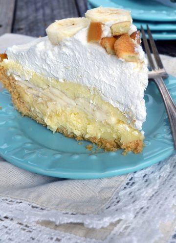 A slice of Banana Cream Pie