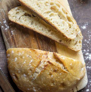 easy no need bread cut into 2 slices