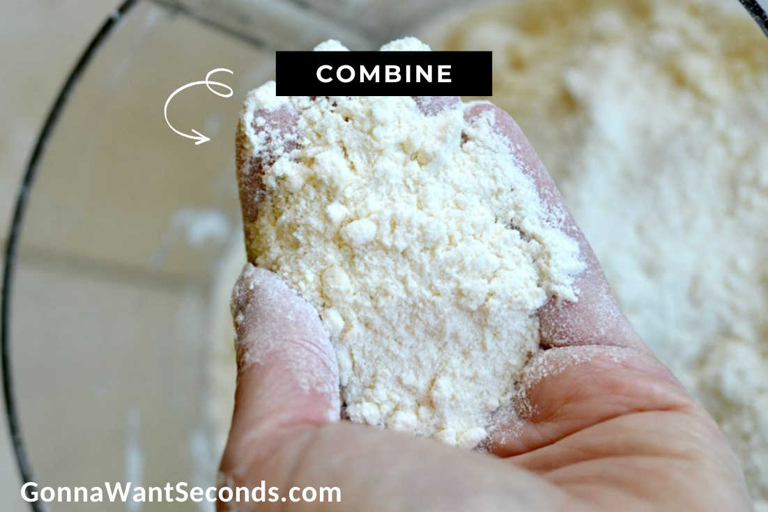 Coconut Cream Pie Bars crust on hand