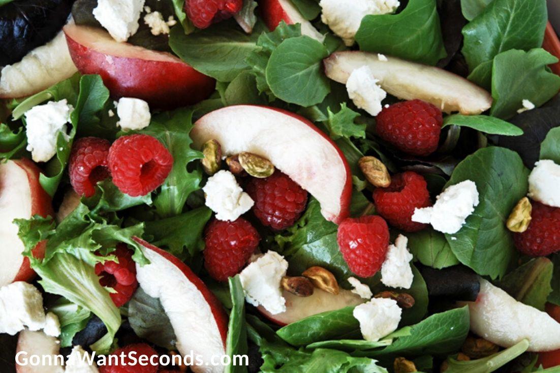 Nectarine Summer Salad close up