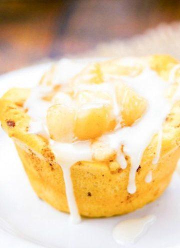 Mini Apple Pies on a plate