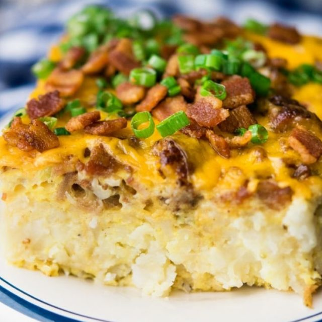 Tater Tot Breakfast Casserole (With Video!)