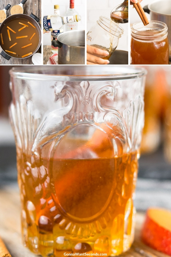Step By Step How To Make Apple Pie Moonshine
