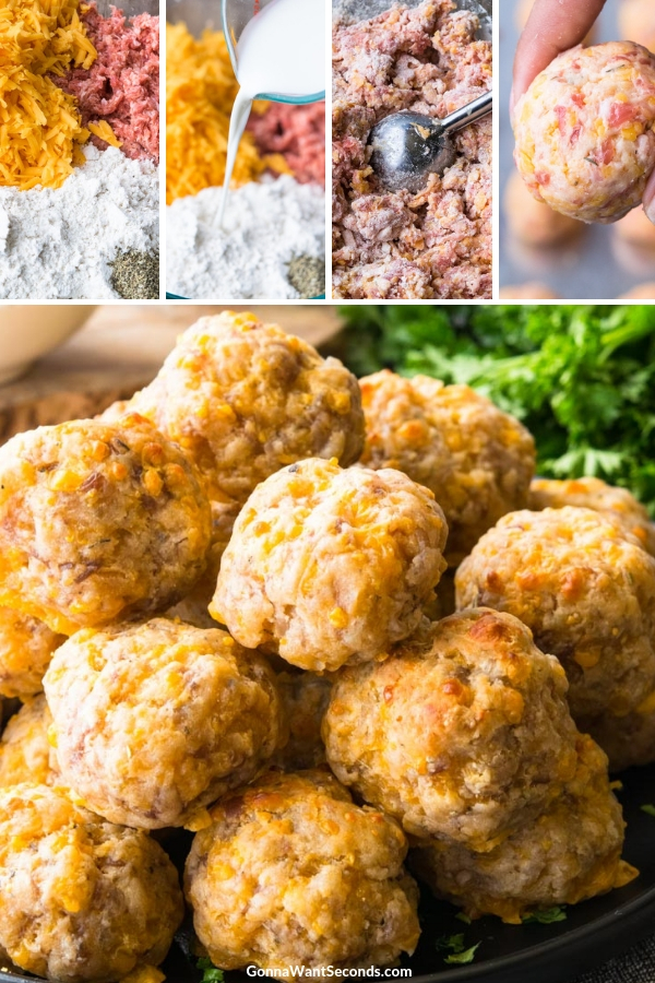 Step By Step How To Make Bisquick Sausage Balls