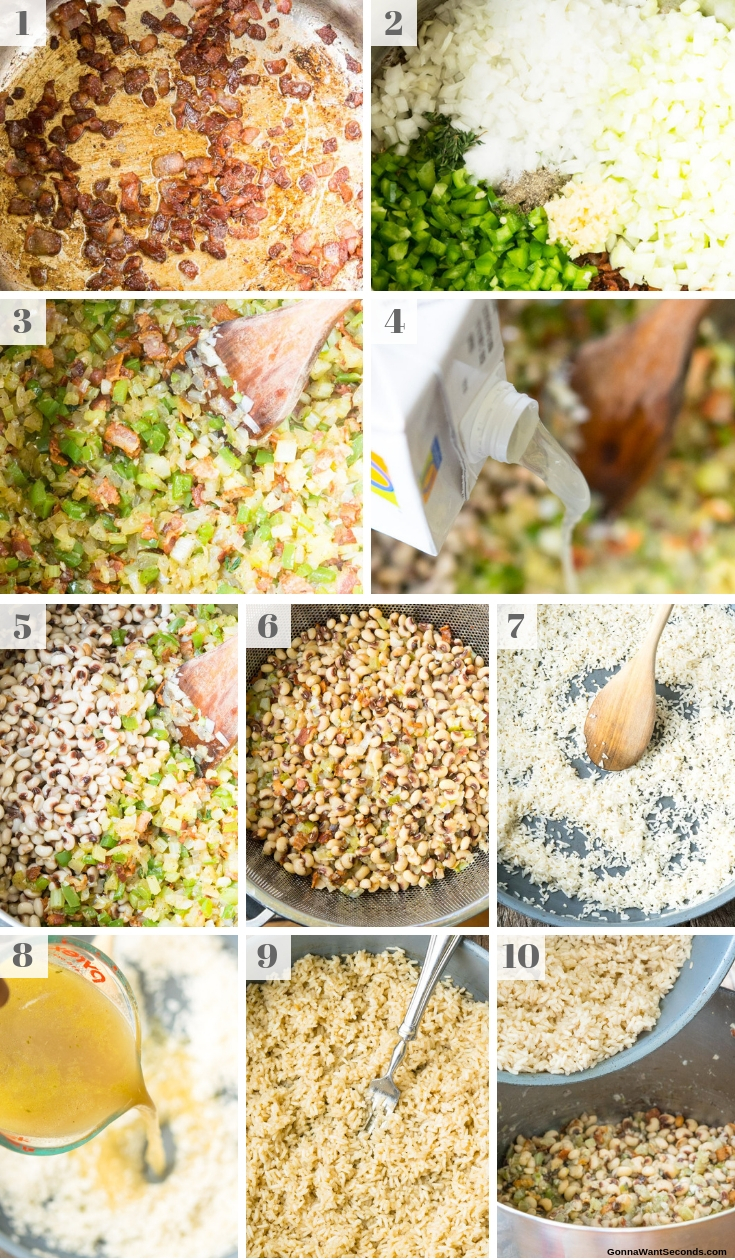 Step By Step How To Make Hoppin John Recipe