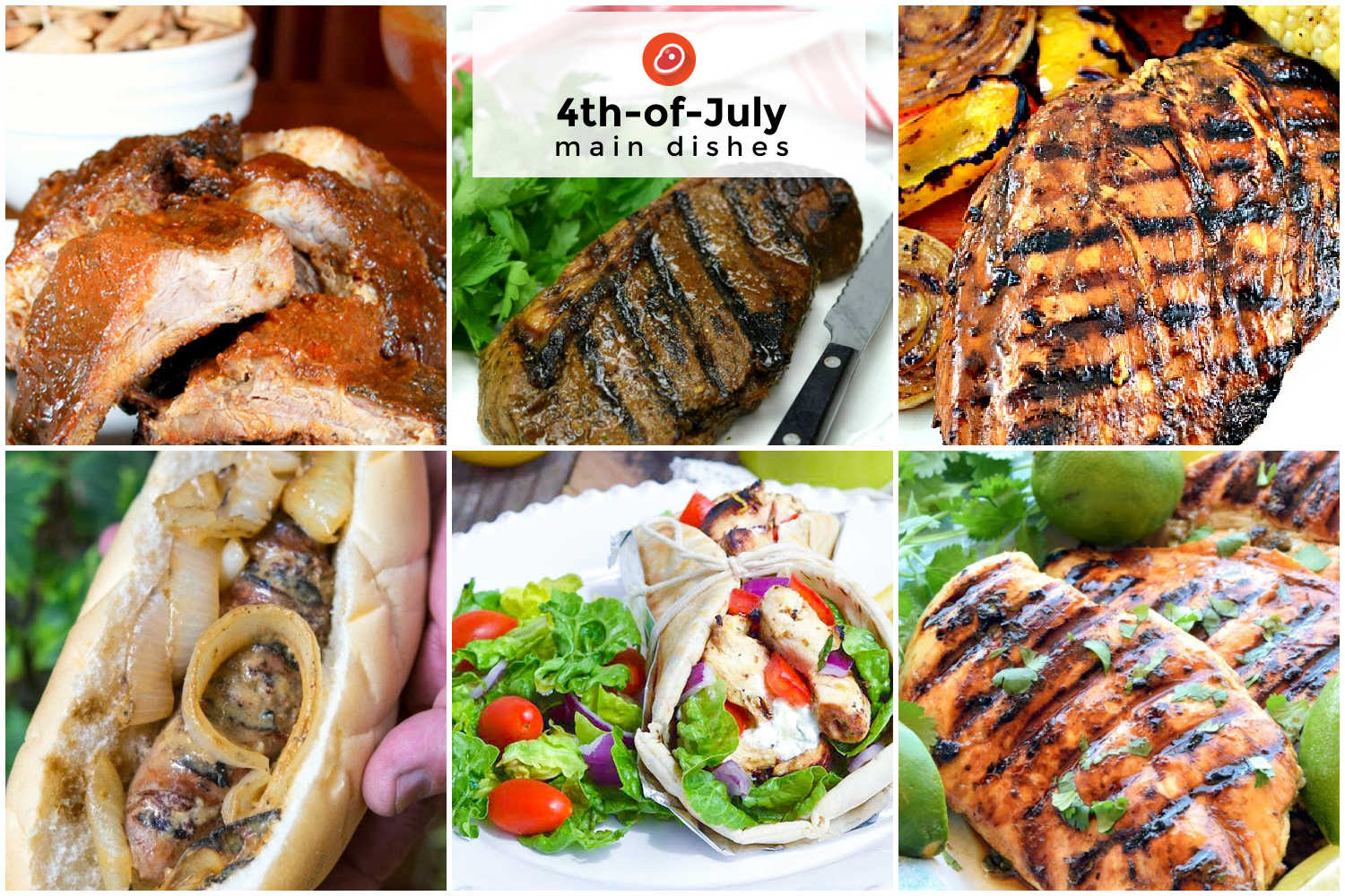 4th of july main dishes