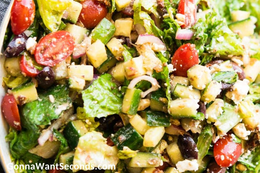 Summer Sides and Salads, Mediterranean Salad