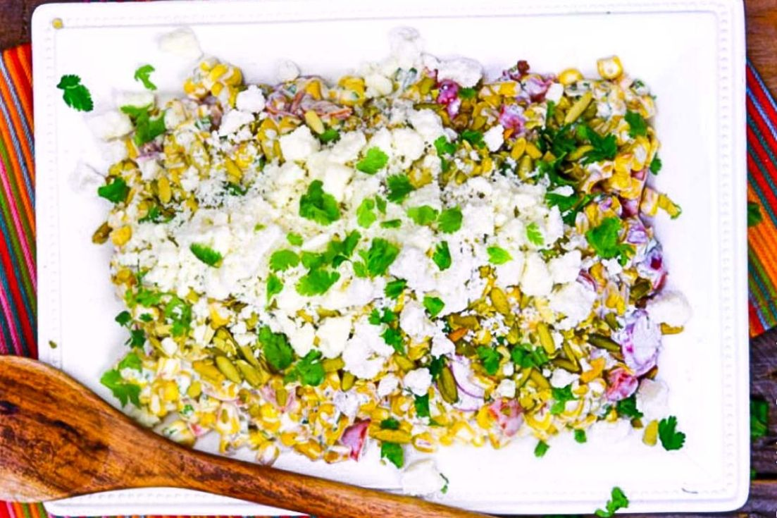 Summer Sides and Salads, Mexican Corn Salad