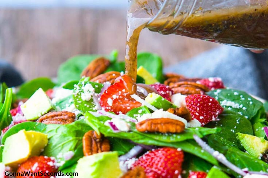 Summer Sides and Salads, Strawberry Spinach Salad