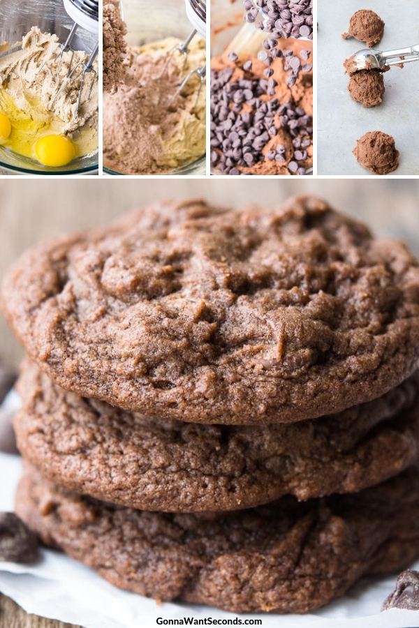 Step By Step How To Make Chocolate Chocolate Chip Cookies