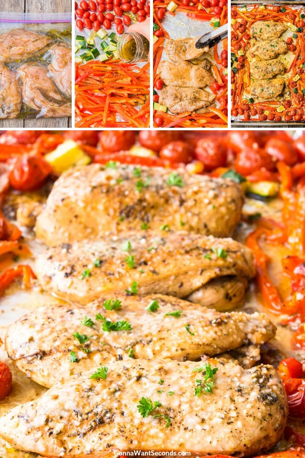 Step By Step How To Make Italian Chicken