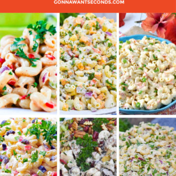 Macaroni Salad Recipes Montage